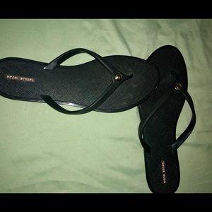 Henri Bendel flip flops